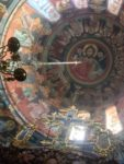 The dome of the Chapel of St. Andrew at Vatopaidi Monastery.
